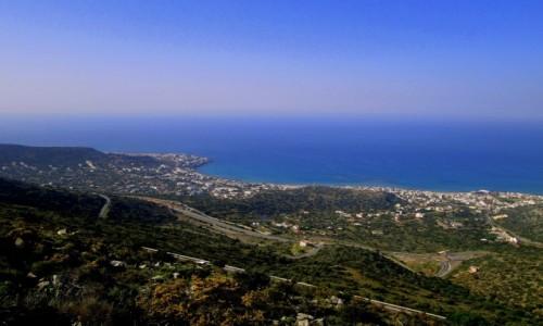 Zdjecie GRECJA / Kreta Wschodnia / okolice Stalidy / Z góry jeszcze piękniej