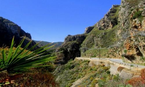 Zdjecie GRECJA / Kreta Zachodnia / Topolia / * Za chwilę tunel