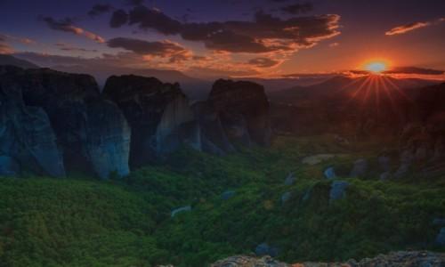 Zdjęcie GRECJA / Meteory / Klambaka / Meteory