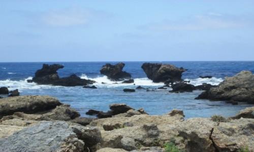 Zdjęcie GRECJA / Kreta / Elafonisi / * Trzy skały