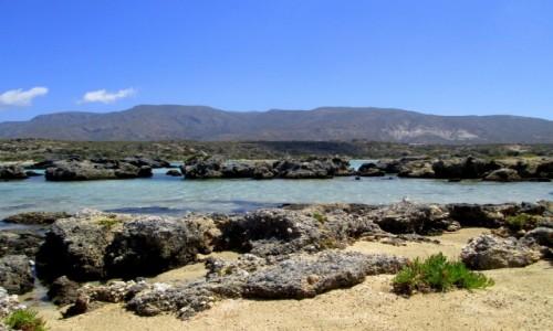 Zdjęcie GRECJA / Kreta / Elafonisi / Skałki