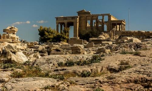 Zdjęcie GRECJA / Attyka / Akropol / Świątynia Ateny