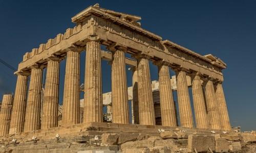 GRECJA / Attyka / Ateny / Partenon