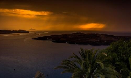 Zdjecie GRECJA / Cyklady / Santorini / Kaldera