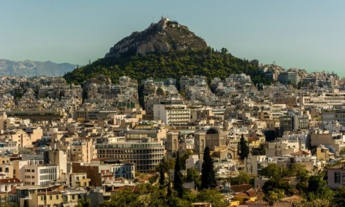 Zdjecie GRECJA / Attyka / Ateny / Wzgórze Likavitos