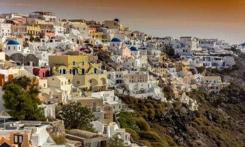 Zdjęcie GRECJA / Cyklady / Santorini / Oia