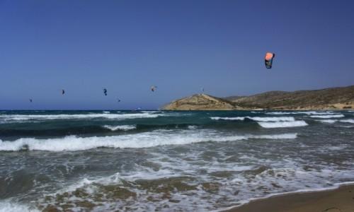 Zdjęcie GRECJA / Rodos / Prasonisi / raj kitesurferów
