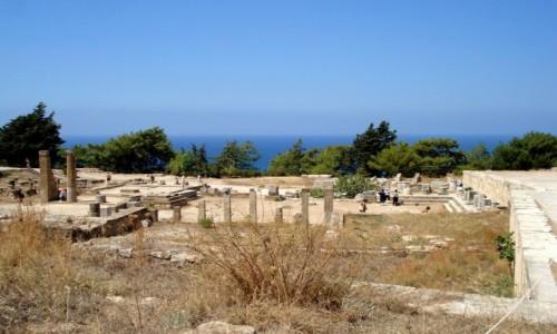 Zdjęcie GRECJA / Dodekanez, Rodos / Kamiros / Greckie wspomnienia - Rodos.