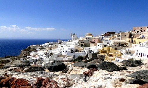 Zdjęcie GRECJA / Santorini / Oia / Greckie wspomnienia - Santorini.