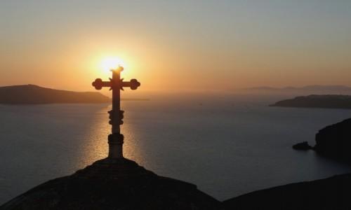 Zdjęcie GRECJA / Cyklady, Santorini / Fira / Greckie wspomnienia - Santorini