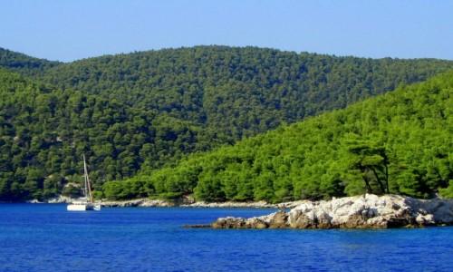 Zdjecie GRECJA / Sporady Północne / Alonissos / ^Płynąc na wyspę Alonissos
