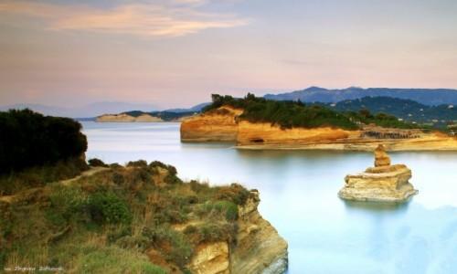 Zdjęcie GRECJA / Korfu / Sidari / Wzdłuż zielonej wyspy