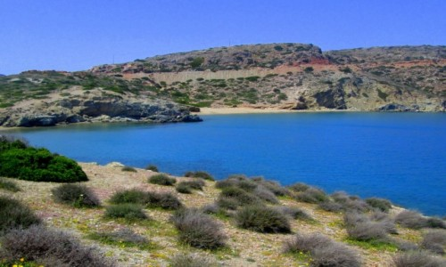 Zdjęcie GRECJA / Kreta Wschodnia / Tenda Bay / Niebo w wodzie