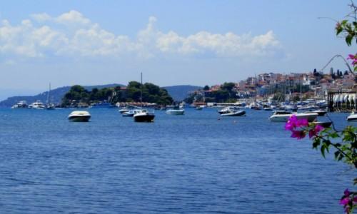 Zdjecie GRECJA / Skiathos / Skiathos Town / Zanim odpłynie krajobraz