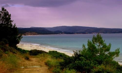 Zdjecie GRECJA / Thassos / okolice Limenarii / Pusta plaża