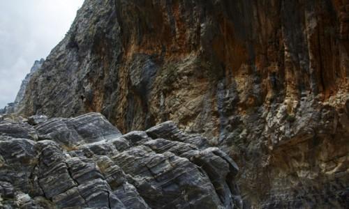 Zdjecie GRECJA / Kreta / Wąwóz Samaria / w Górach Lefka Ori