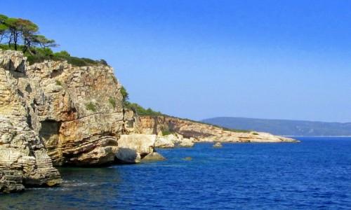 GRECJA / Sporady Północne / Skopelos / Skały Skopelos