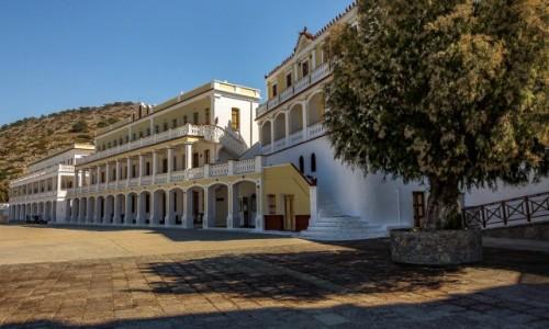 Zdjecie GRECJA / Dodekanez / Symi / Klasztor Panormitis