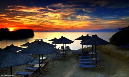 Zdjecie GRECJA / Korfu / Sidari / Gdy dzień się kończy,a noc zaczyna...