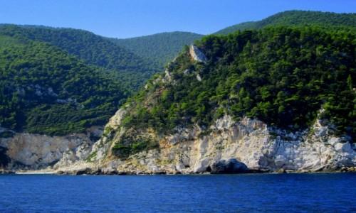 Zdjecie GRECJA / Sporady Północne / Skopelos / Wybrzeże
