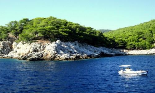 Zdjecie GRECJA / Sporady Północne / okolice Skopelos / Łódką na bezludną wyspę