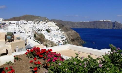 Zdjecie GRECJA / Cyklady, Santorini / Oia / Greckie wspomnienie lata :)