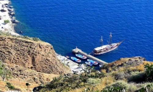Zdjecie GRECJA / Cyklady, Santorini / Fira / Greckie wspomnienie lata :)