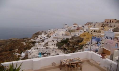 GRECJA / Santorini-Thira / Oia / Santorini latem nie polecam