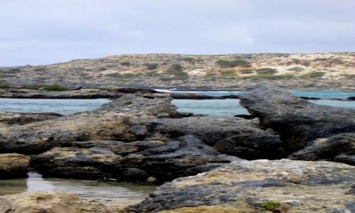 Zdjęcie GRECJA / Kreta  / Elafonisi / Skały na Elafonisi