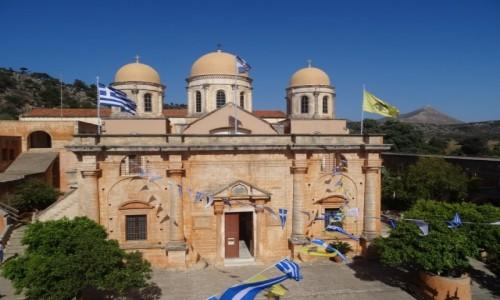 GRECJA / Kreta / Półwysep Akrotiri / Monastyr Agia Triada