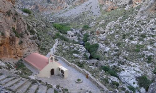 Zdjecie GRECJA / Kreta / Wąwóz Kurtaliotis / W wąwozie Kurtaliotis