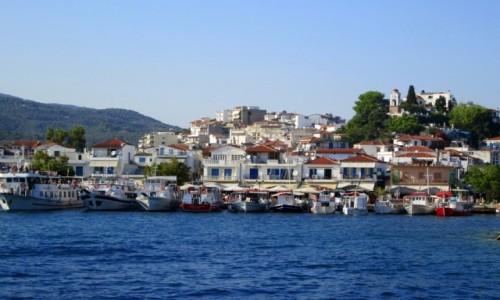 GRECJA / Sporady Północne / Skiathos / ~Stary port
