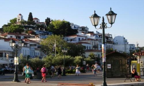 Zdjecie GRECJA / Sporady Północne / Skiathos  / Skiathos Town