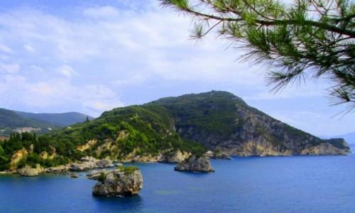 Zdjecie GRECJA / Epir / okolice Pargi / Rzut okiem