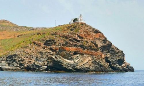 Zdjecie GRECJA / Cyklady / Kea / Latarnia morska