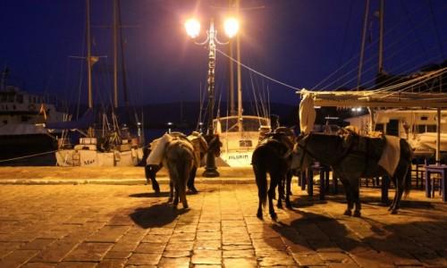Zdjęcie GRECJA / Hydra / Port / W porcie
