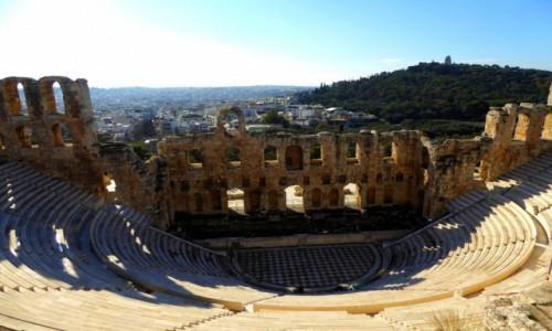 Zdjęcie GRECJA / Attyka / Ateny / Teatr Dionizosa