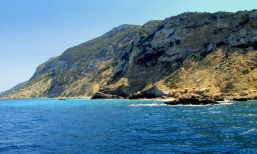 Zdjecie GRECJA / Morze Jońskie / okolice Korfu / Urwisty brzeg