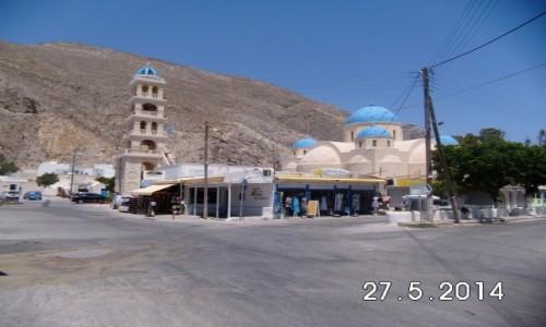 Zdjecie GRECJA / Santorini-Thira / Perissa / Monastyr
