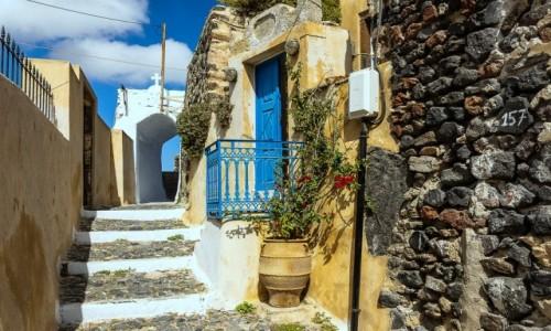 Zdjecie GRECJA / Cyklady / Santorini / Pyrgos