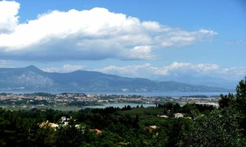 Zdjecie GRECJA / Korfu / Achilleion / Panorama