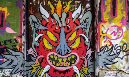 Zdjecie GRECJA / Attyka / Ateny / mural
