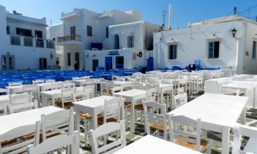 Zdjecie GRECJA / Cyklady / Paros / Miejsca raczej nie zabraknie