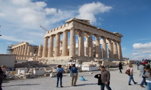 Zdjęcie GRECJA / Grecja / Ateny / Ateny - akropol