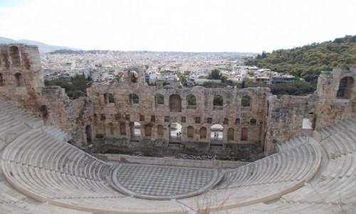Zdjecie GRECJA / Grecja / Ateny / Ateny - Odeon Heroda