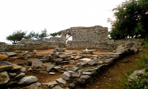 Zdjęcie GRECJA / Thassos / Półwysep Aliki / Ruiny