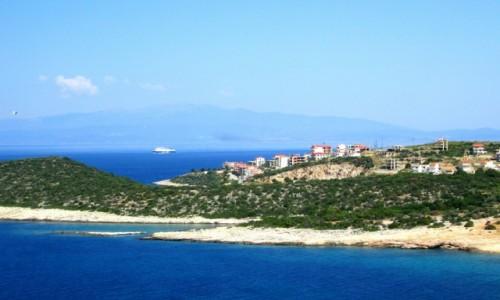 Zdjęcie GRECJA / Thassos / Wybrzeże zachodnie / Budują się