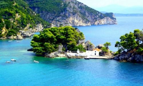 Zdjęcie GRECJA / Epir / Parga / Widok ze wzgórza