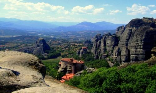Zdjęcie GRECJA / Tesalia / Meteory / Kolosy i monastyry