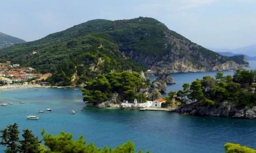 Zdjecie GRECJA / Epir / Parga / Wyspa z widokiem na Pargę